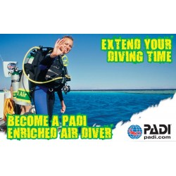 PADI Nitrox Enrichted Air